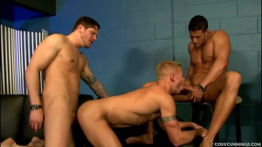 hitsige heren hebben lekkere homosex voor zijn neus